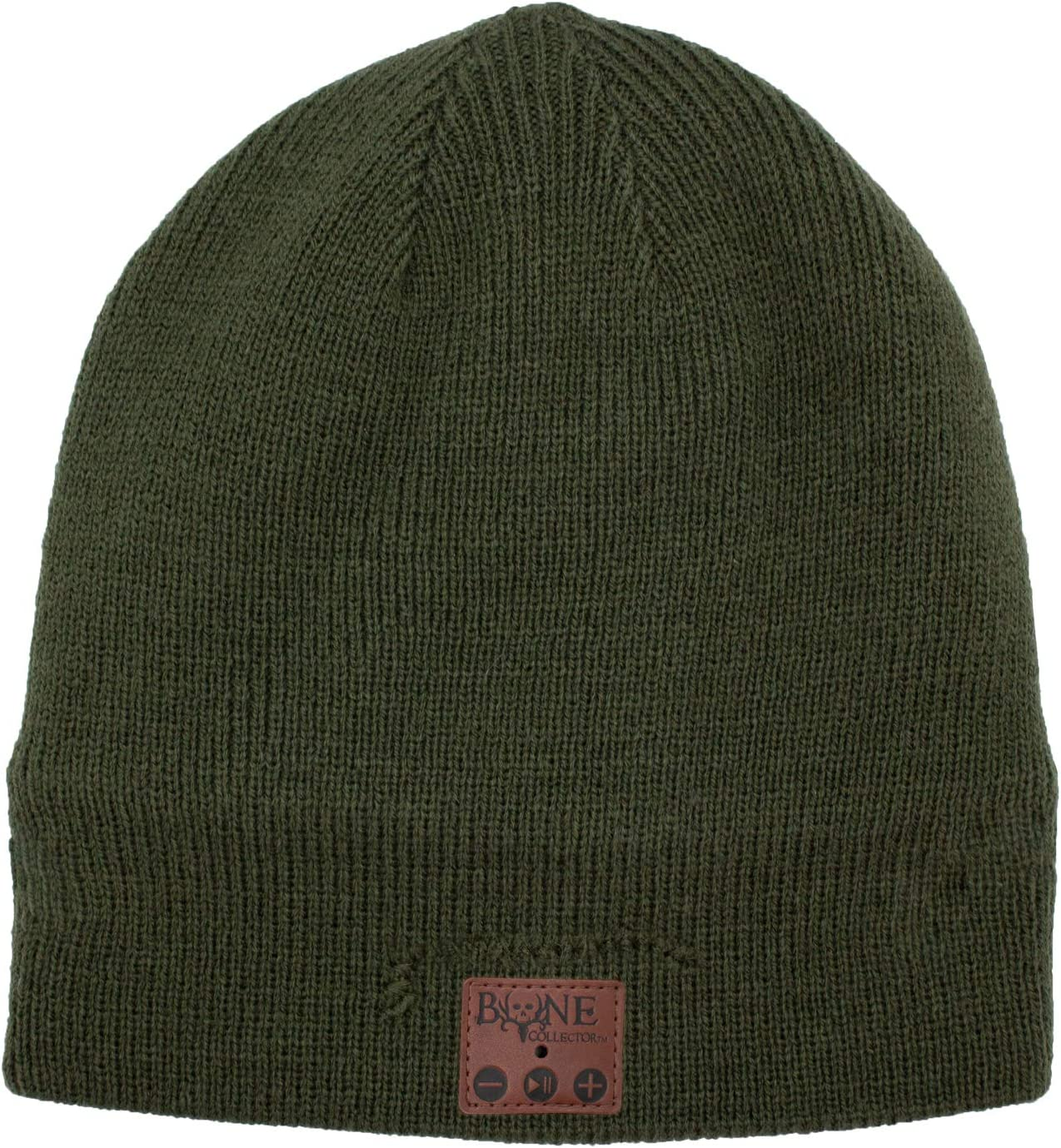 Bluetooth Beanie Hat, Evergreen, Listen to Music, Stay Warm, Hands-Free, Bone Collector