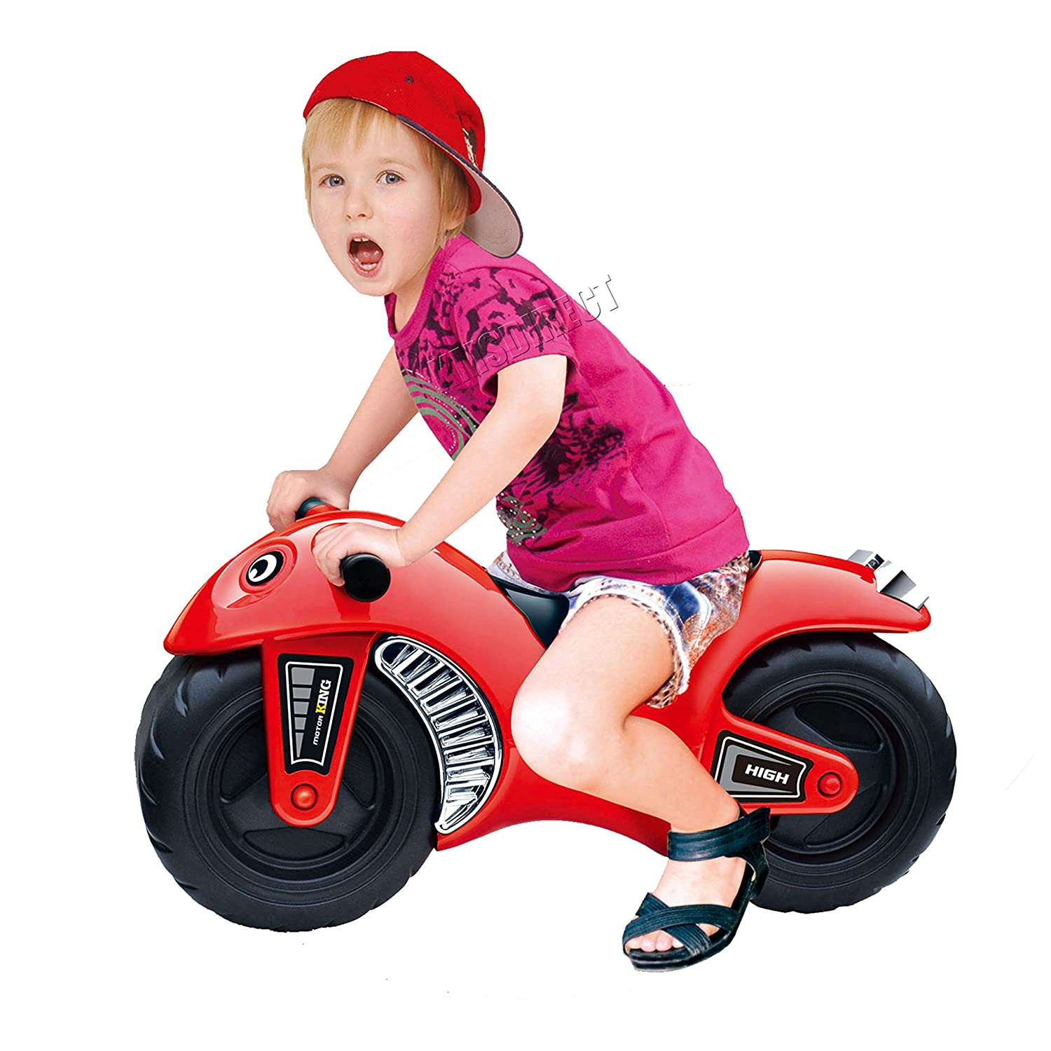 FoxHunter Kids Children Toddler Ride Balance Motorcycle