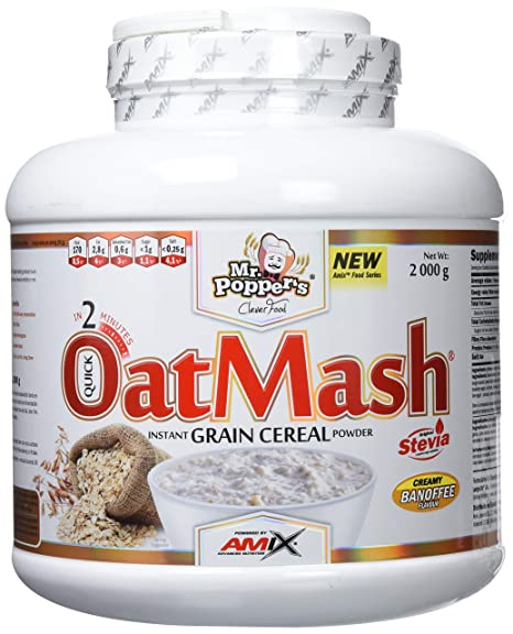 Mr. Poppers OatMash 2 Kg Platano