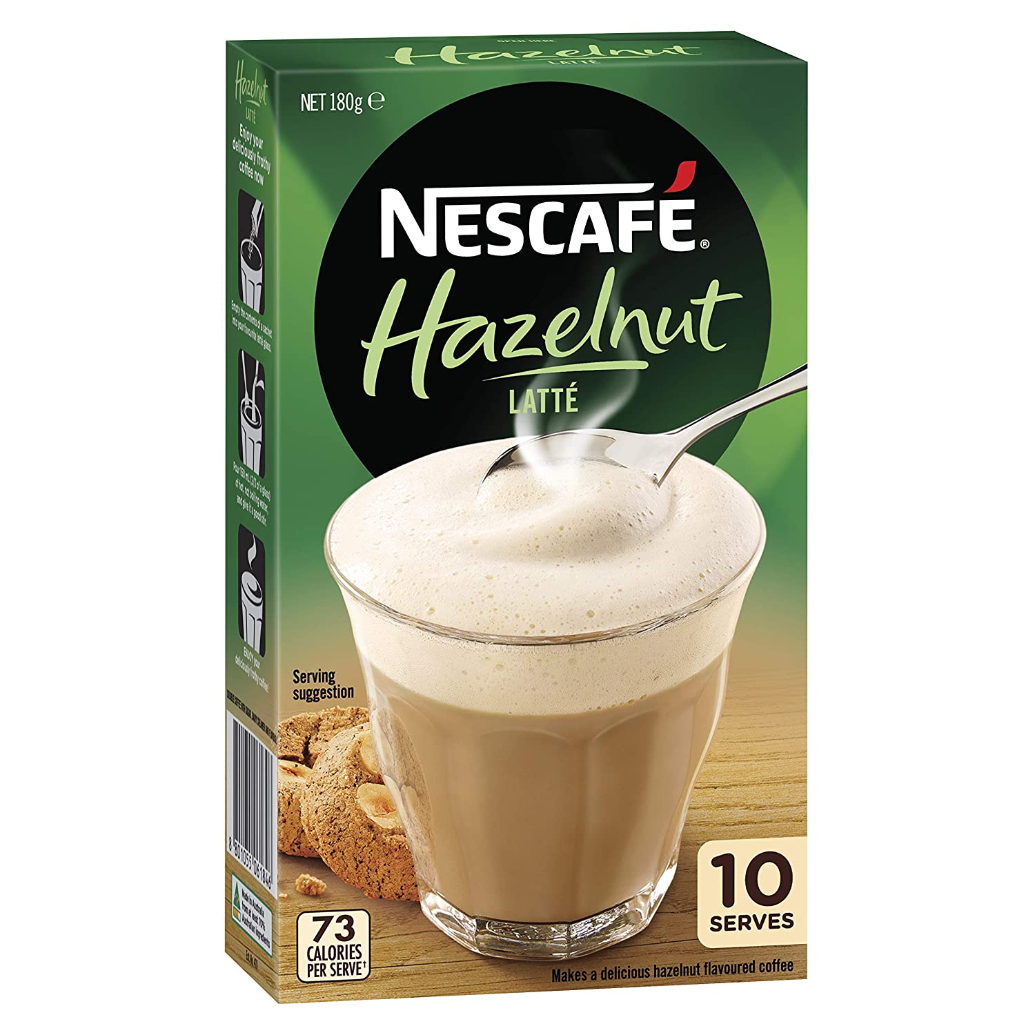 Image result for nescafe hazelnut latte