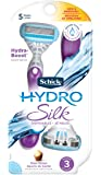 Hydro Silk Razor Disposable Razors for Women with Moisturizing Serum