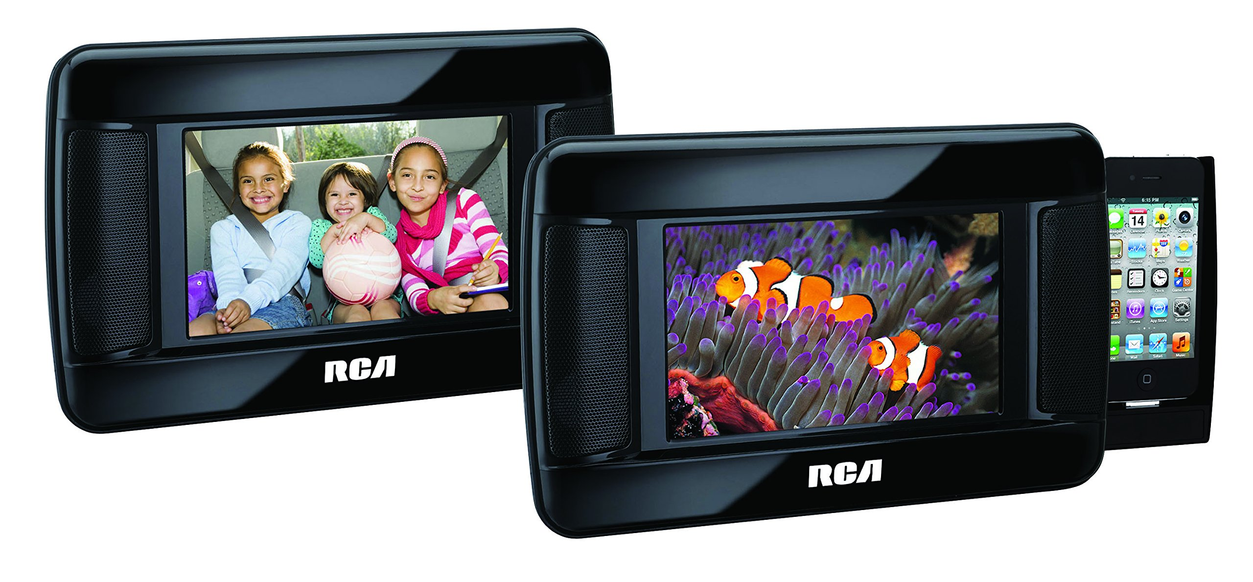 RCA DRC97873i 7-Inch Mobile DVD Player with iPhone Dock by RCA