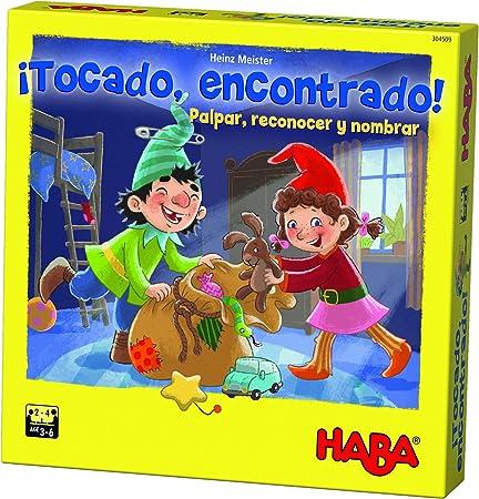 HABA-Juego de Mesa, ¡Tocado, Encontrado, Multicolor (Habermass H304509): Amazon.es: Juguetes y juegos