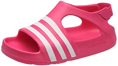 more photos deca9 61f5c adidas Originals Unisex-Kinder ADILETTE PLAY I Sandalen Rosa Bloom, 21 EU