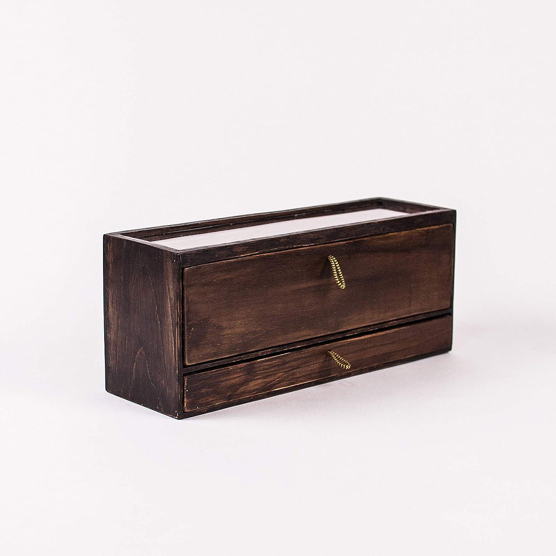 Amazon.com: Wood watch and jewelry organizer - Exclusive ...