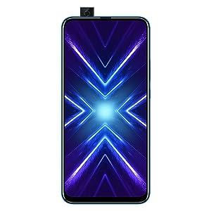 Honor 9X (Sapphire Blue, 4+128GB Storage)-Pop up Front Camera & 48M Triple Rear Camera