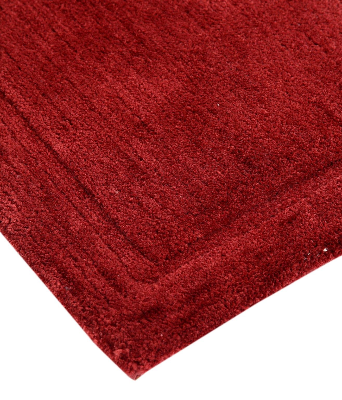 WARISI - Track Collection - Solids microfiber Bathroom, Bedroom Rug, 34 x 21 inches (Marsala) by WARISI (Image #3)