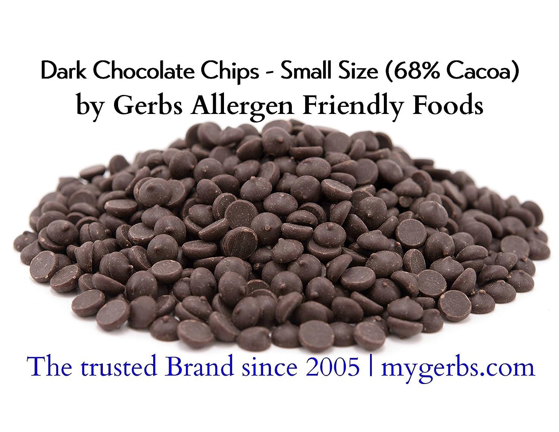 Amazon.com : Dark Chocolate Chips (68% Cacao) by Gerbs - 2 LBS ...