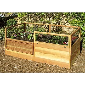 Amazoncom Gardens to Gro 3 x 6 ft Raised Vegetable Garden Bed
