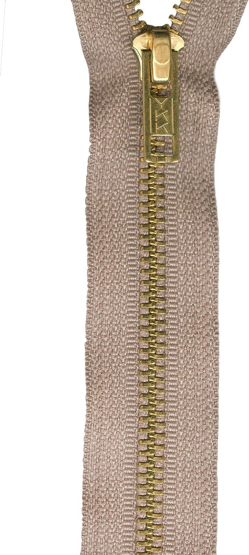 Beige American /& Efird YKK Upholstery Zipper 24