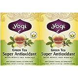 Yogi Tea Green Tea Super Antioxidant, Herbal Supplement, Tea Bags, 16 ct, 2 pk