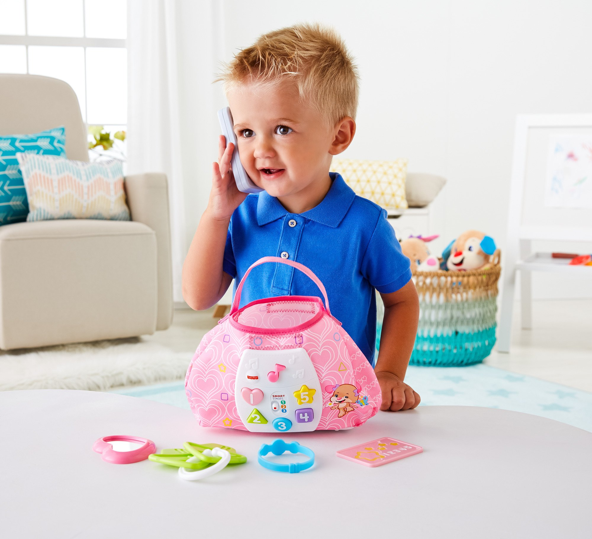 Fisher-Price Laugh & Learn Sis' Smart Stages Purse by Fisher-Price (Image #9)