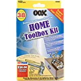 OOK 59989 Picture Hanging Kit, Art Hanging Kit and Home Tool Box Kit, Steel (38 Piece)