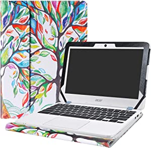 "Alapmk Protective Case Cover for 11.6"" Acer Chromebook 11 C771T C771 & Chromebook Spin 11 CP311-1HN R751T CP511-1HN R751TN & Chromebook 11 N7 C731T C731 CB311-7H CB311-7HT Series Laptop,Love Tree"
