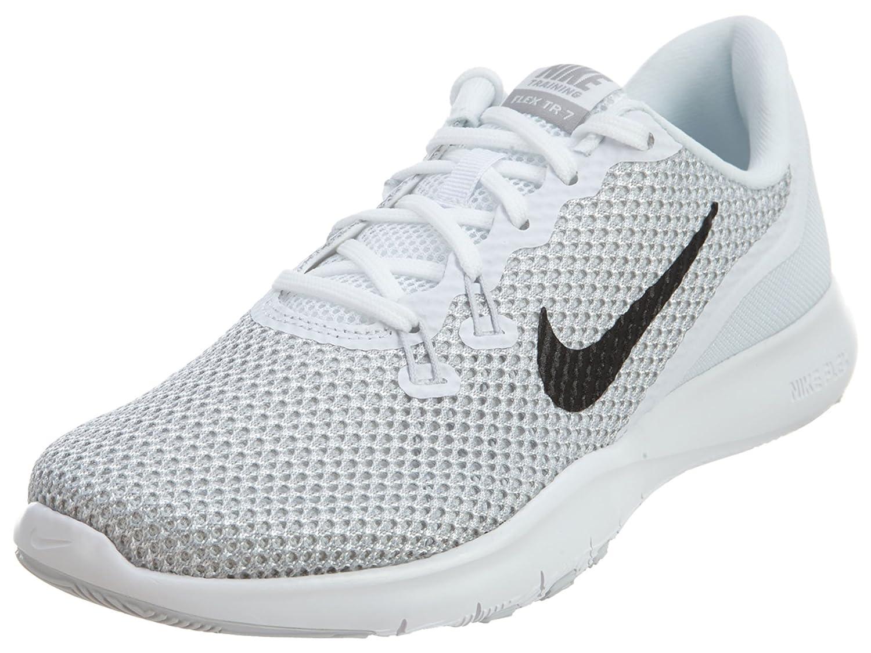 hot sale online d797d ecc05 Nike Women s Flex Flex Flex Trainer 5 Shoe B01LPGP0AC 12 B(M) US White Metallic  Silver Pure Platinum 7fbb91