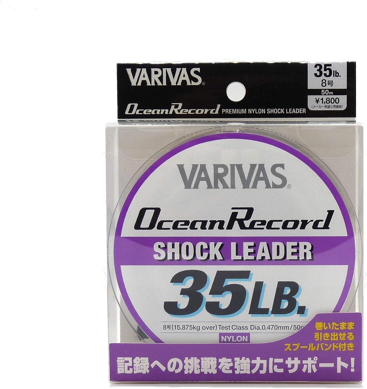 9754 Varivas Ocean Record Nylon Shock Leader Line 50m 70lb