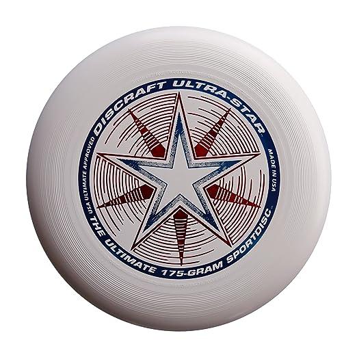 27 opinioni per Discraft- Frisbee Ultrastar, 175 g, bianco