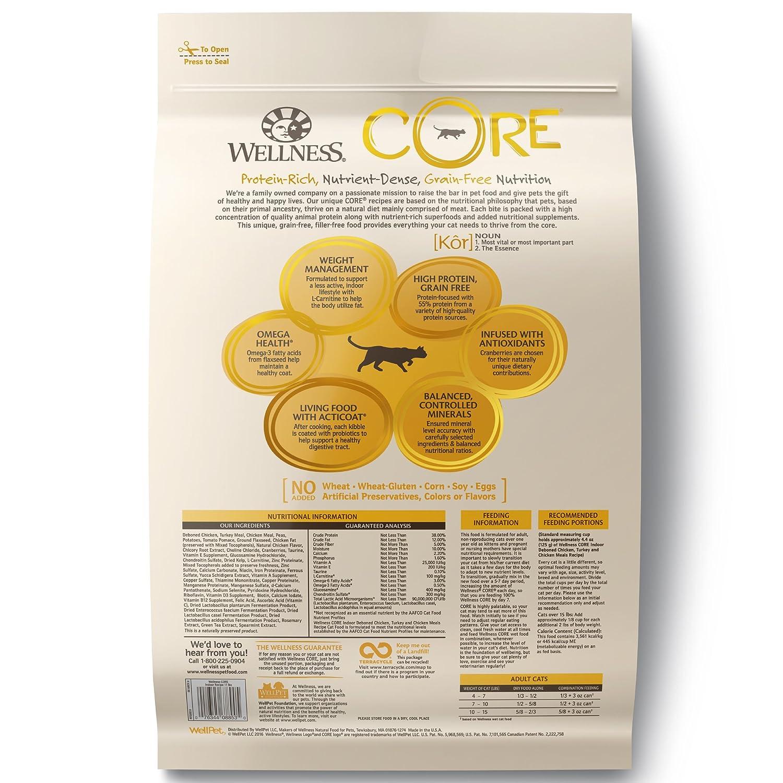 Wellness Core Natural Grain Free Dry Cat Food Indoor Chicken