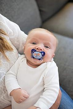 Dr Brown s prevent chupete (6 A 12 meses, color azul, pack de 2)