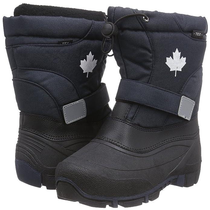 Canadians Indigo 467 185 Nieve Invierno Botas Polar Forro Unisex en 6 Colores - Lila, Morado, 30 EU