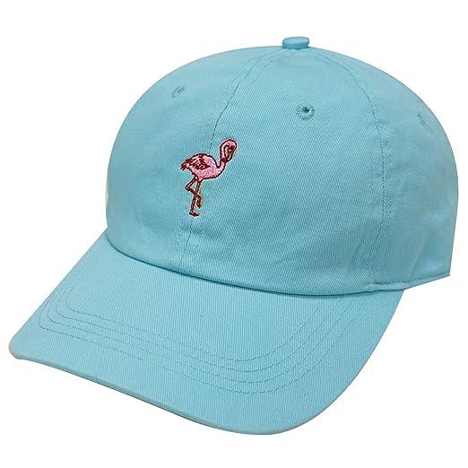 City Hunter C104 Flamingo Small Embroidery Cotton Baseball Cap 13 Colors  (Aqua) 0367e35f2727