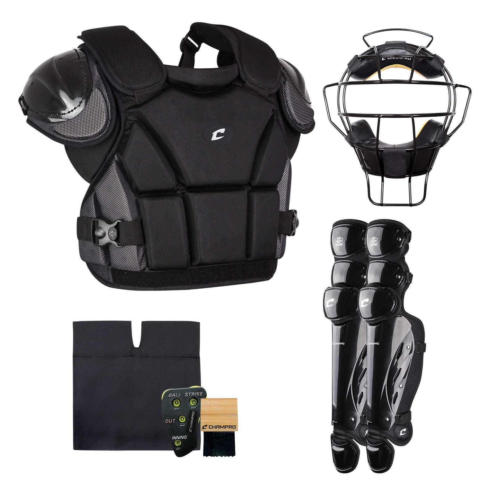 CHAMPRO Sports Varsity Umpire KIT-Black Black by CHAMPRO