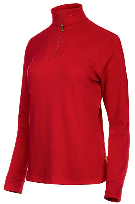 Medico - Camiseta de esquí para Mujer, 100% algodón, Manga Larga ...