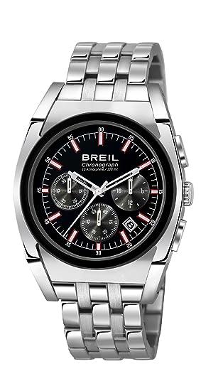 Breil TW0968 - Reloj de pulsera para hombre, negro / plata: BREIL: Amazon.es: Relojes
