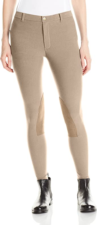 Devon-Aire 504 Womens All Pro Hipster Riding Breech Black X-Large