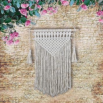 Golden Maple Makramee Wandbehang Dekoration Für Ihr Zimmer Wie Die Küche  Böhmische Wanddeko Wandteppich Von Baumwolle