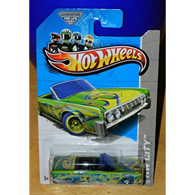 2013 Hot Wheels Treasure Hunt '64 Lincoln Continental Convertible: Toys & Games