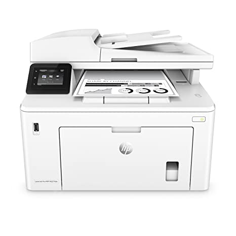HP Laserjet Pro M227fdw - Impresora láser multifunción (Mono, Imprimir, A4 Wi-Fi) Color Blanco