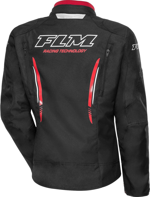 FLM Motorradjacke mit Protektoren Motorrad Jacke Sports Damen Textiljacke 6.0 Ganzj/ährig Sportler