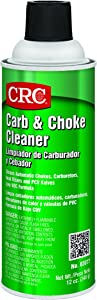 CRC Carb and Choke Cleaner, 12 oz Aerosol Can, Clear
