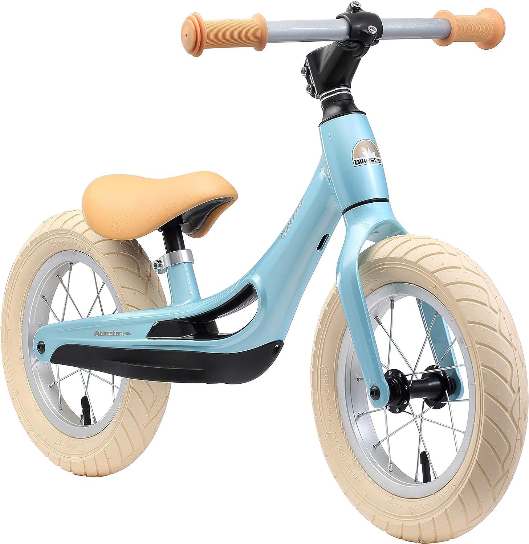 BIKESTAR Bicicleta sin Pedales de magnesio (Muy Ligero!) para niños y niñas 3-4 años   Bici con Ruedas de 12