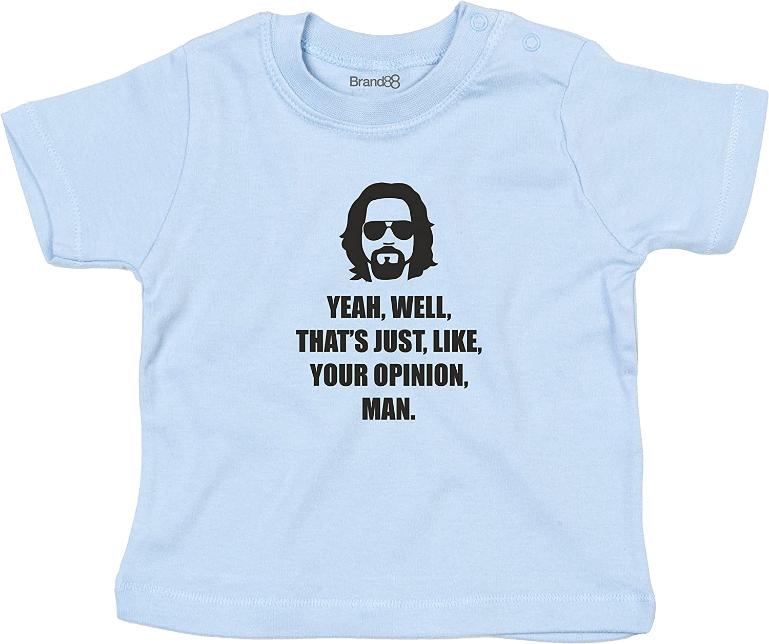 Man Brand88 Your Opinion Baby T-Shirt