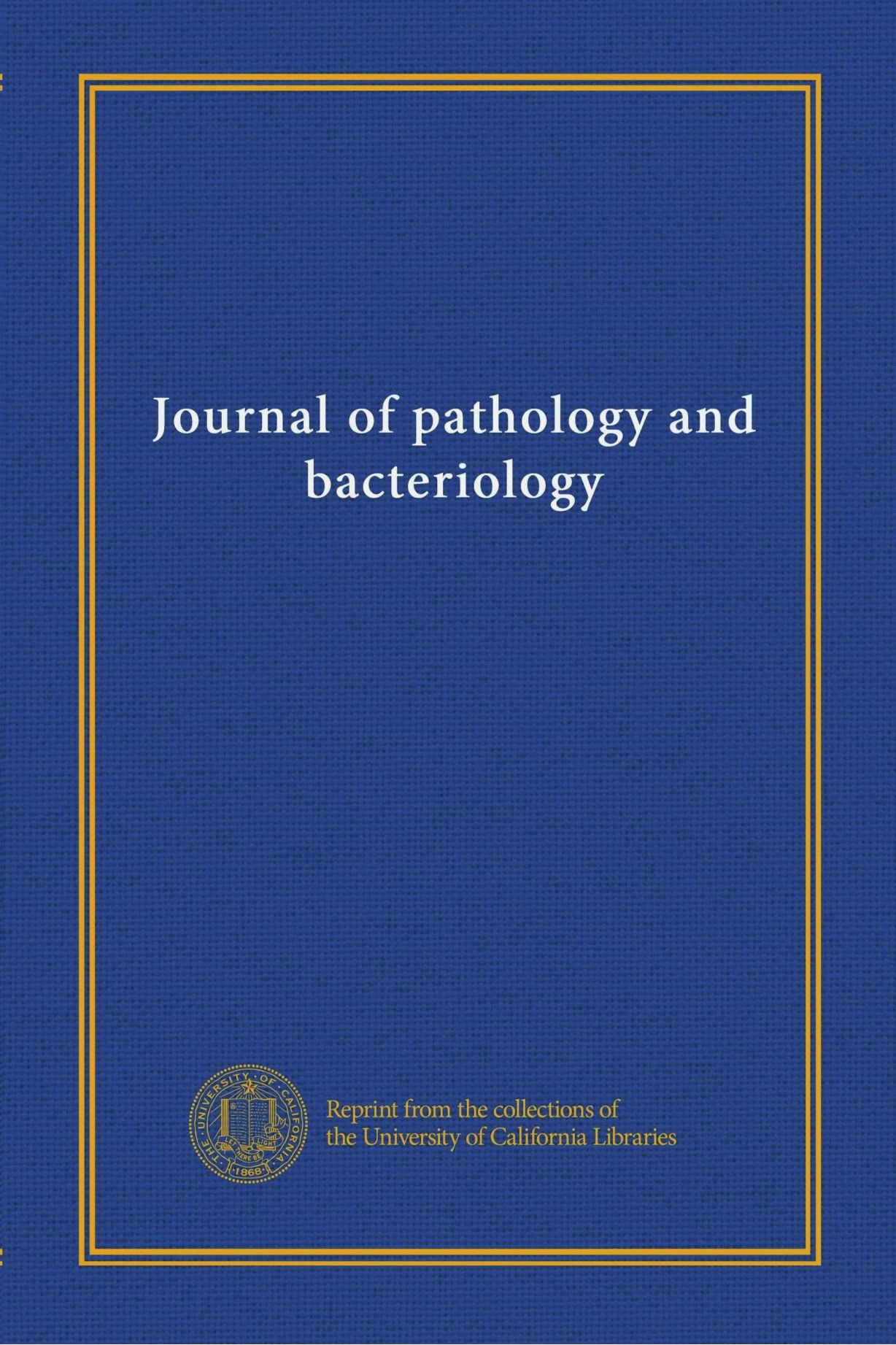 Journal of pathology and bacteriology (v.19 (1914-15))