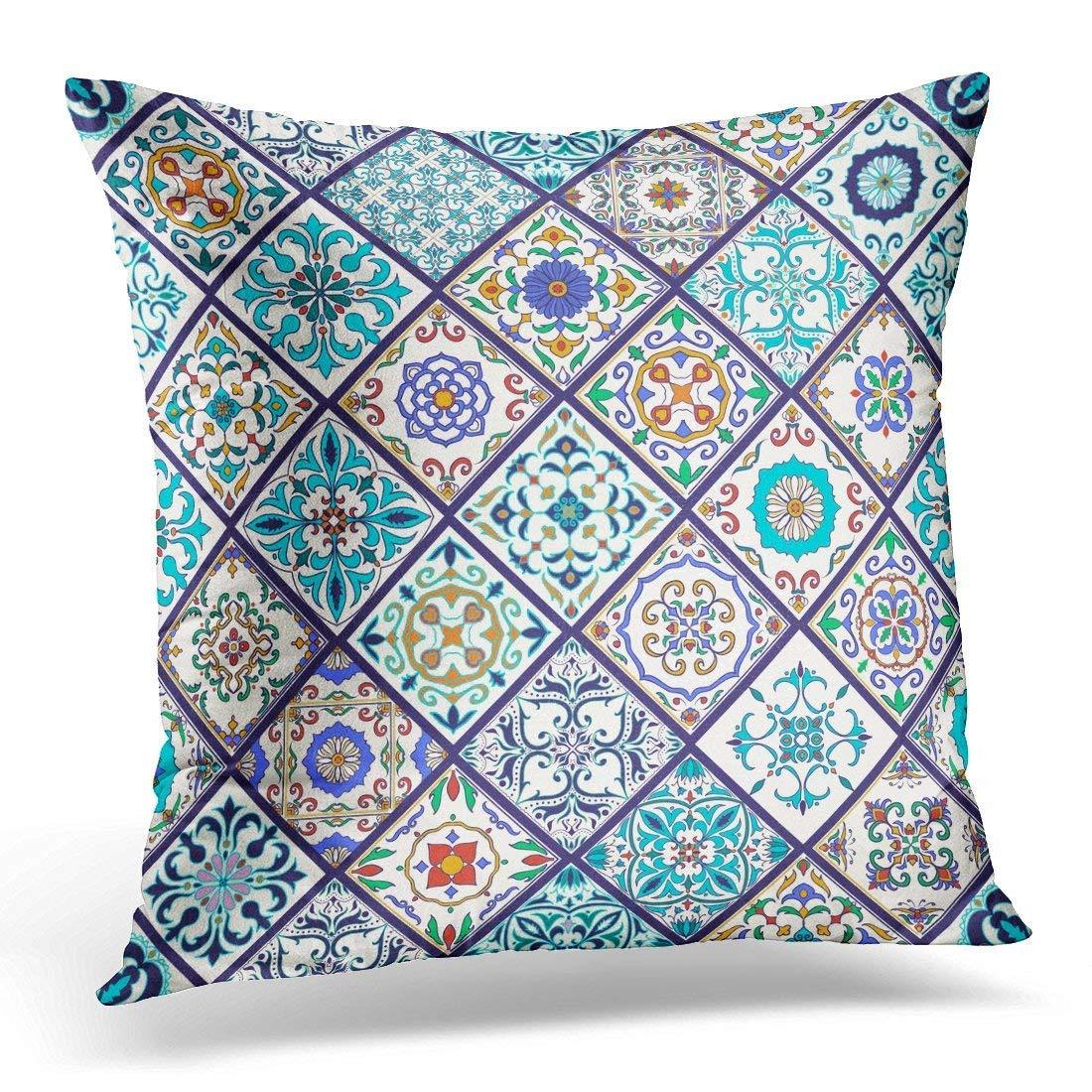 Throw Pillow Case Square Home Decor Pillowcase Beautiful ...