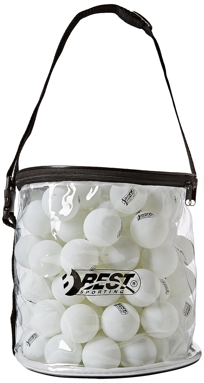 Best Sporting Tischtennisbälle Tischtennis Bälle 40mm , 100 Stück in Tasche, Zelluloid 100 Stück in Tasche 2087655