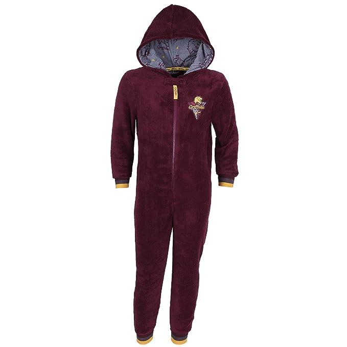 Harry Potter Griffindor - Pijama - para niña Rojo Rojo