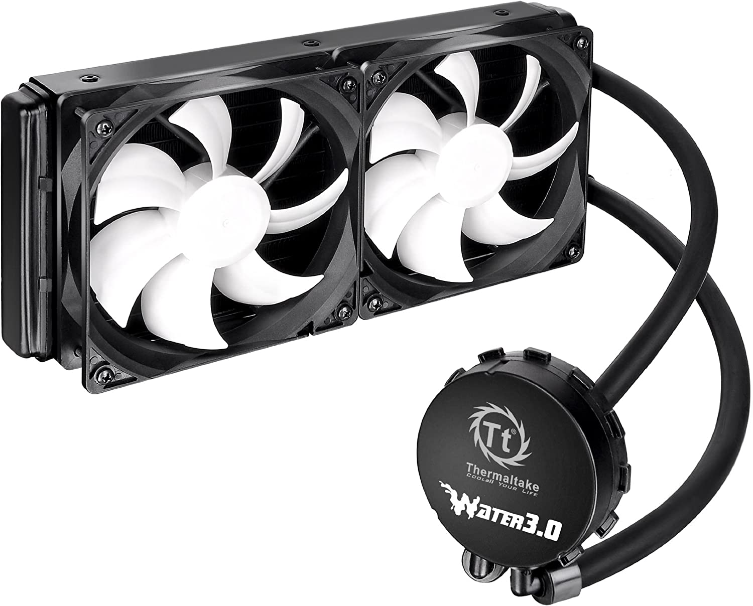 Thermaltake Water 3.0 Extreme S 240mm Aluminum Radiator AIO Liquid Cooling System CPU Cooler CLW0224-B