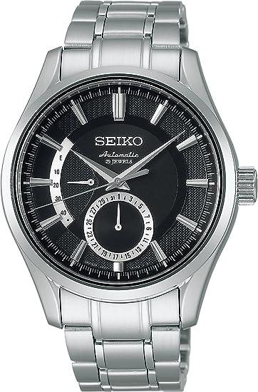 [セイコーウォッチ] 腕時計 プレザージュ カーブサファイアガラス メカニカル 自動巻 (手巻つき) シースルーバック SARW003 シルバー