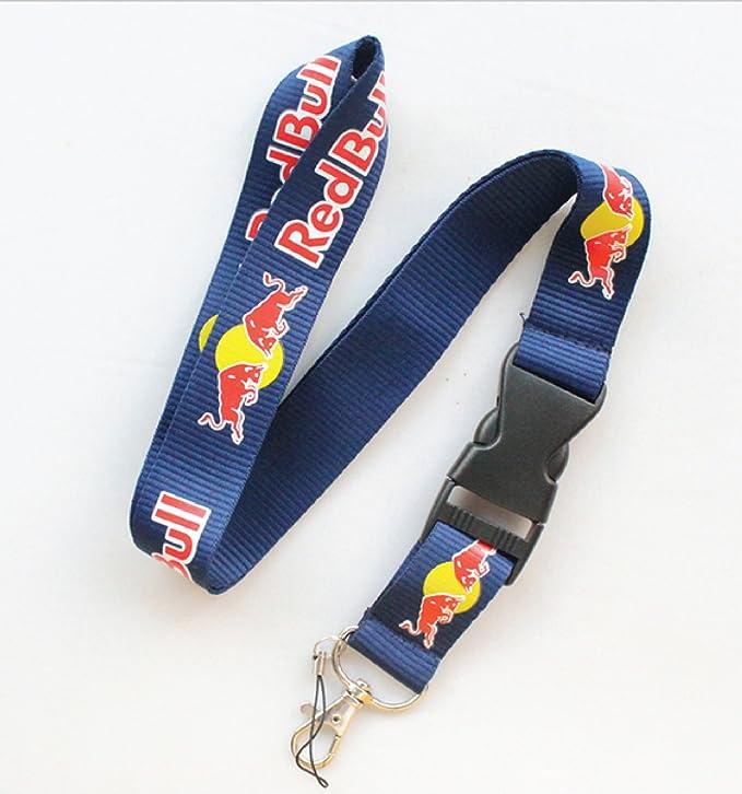 Amazon.com: Red Bull Lanyard Llavero Color Azul Marino: Home ...