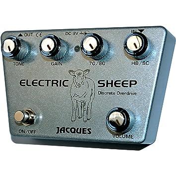 Jacques - Pedal eléctrico para guitarra de oveja: Amazon.es: Instrumentos musicales