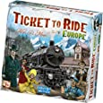 Days of Wonder DW7202 Ticket to Ride- Europe Board Game