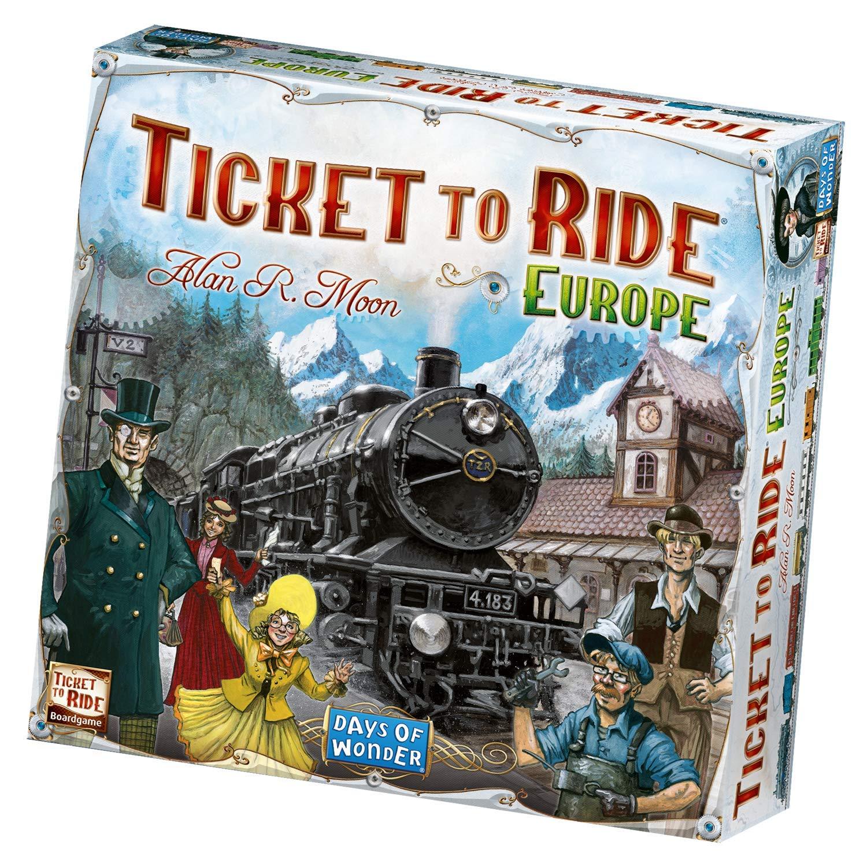 Ticket to Ride Europe, Gameschooling & Educational Game Reviews - HomeschoolGameschool.com
