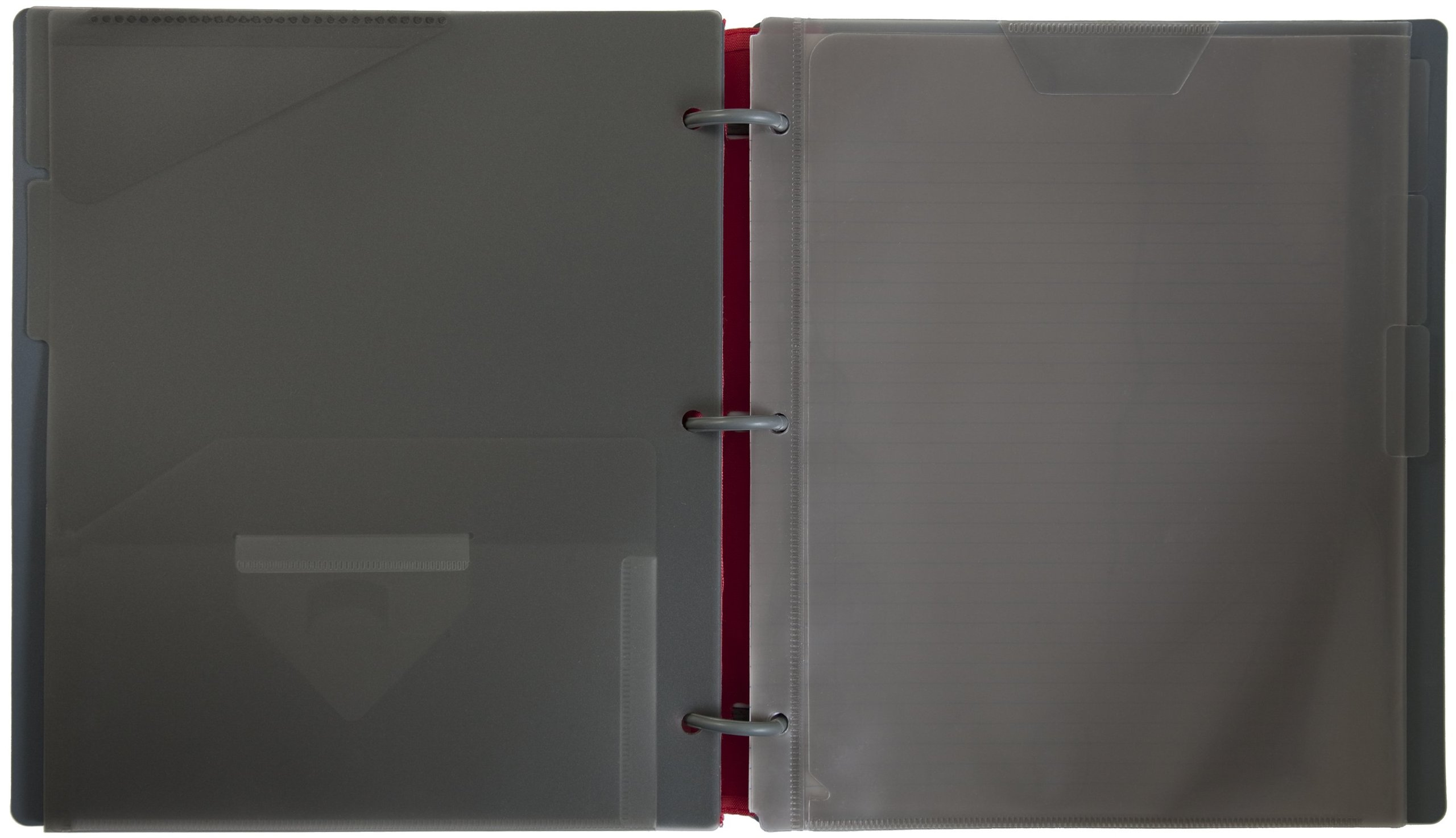 Five Star Flex Hybrid NoteBinder, 1 Inch Binder, Notebook and Binder All-in-One, Blue (72011) by Mead (Image #2)