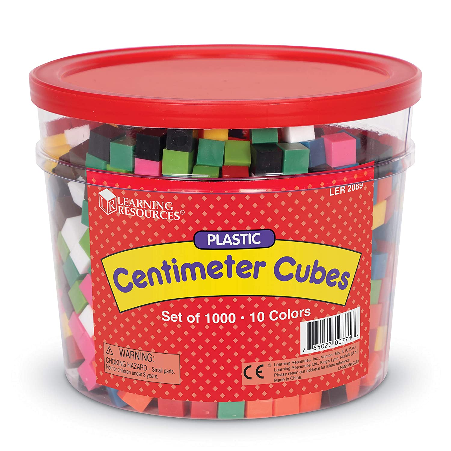 graphic regarding Centimeter Cubes Printable identified as Studying Products Centimeter Cubes, Preset of 1000