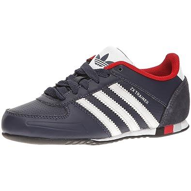 adidas Zx Trainer J - Chaussures Multisport Loisirs Enfant - Bleu marine/Blanc/Rouge
