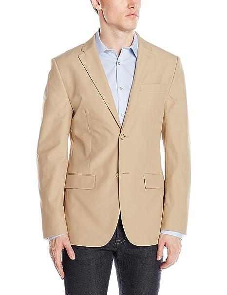 1f1d91dfffa49 Perry Ellis - Chamarra de algodón para Hombre  Amazon.com.mx  Ropa ...